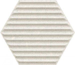 Płytka ścienna Paradyż Space dust Grys Heksagon STR B 19,8x17,1 cm (p)