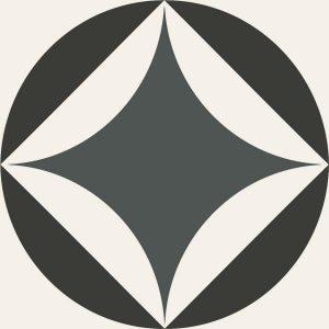 Płytka podłogowa Paradyż Classy chic A Mat 19,8x19,8 cm (p)