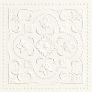 Płytka ścienna Paradyż Classy chic Bianco STR A 19,8x19,8 cm (p)