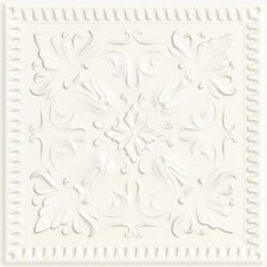 Płytka ścienna Paradyż Classy chic Bianco STR C 19,8x19,8 cm (p)