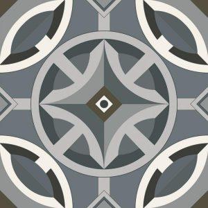 Płytka podłogowa Paradyż Classy chic B Mat 19,8x19,8 cm (p)