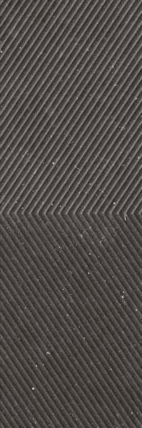 Płytka ścienna Paradyż Space dust Nero STR 29,8x89,8 cm (p)