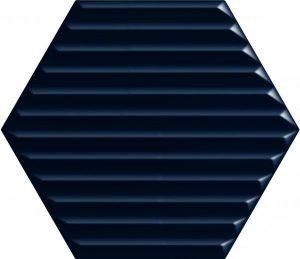 Płytka ścienna Paradyż Intense tone Blue Heksagon STR B 19,8x17,1 cm (p)