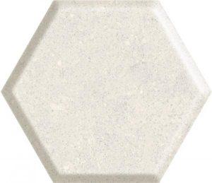Płytka ścienna Paradyż Space dust Grys Heksagon STR A 19,8x17,1 cm (p)