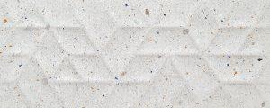 Płytka ścienna Tubądzin Dots grey STR 29,8x74,8 cm