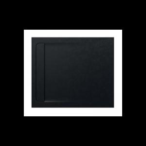 Brodzik kompozytowy prostokątny Roca Aquos STONEX® 1000x800 mm czarny AP6013E832001400