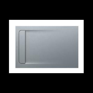 Brodzik kompozytowy prostokątny Roca Aquos STONEX® 1200x800 mm szary cement AP6014B032001300
