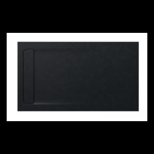 Brodzik kompozytowy prostokątny Roca Aquos STONEX® 1400x800 mm czarny AP60157832001400