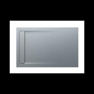 Brodzik kompozytowy prostokątny Roca Aquos STONEX® 1400x900 mm szary cement AP60157838401300