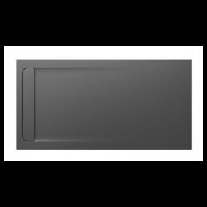 Brodzik kompozytowy prostokątny Roca Aquos STONEX® 1800x900 mm szary łupek AP60170838401200