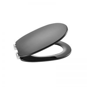 Deska wolnoopadająca SUPRALIT ® Roca Carmen 44×37 cm, dark grey A801B5238B
