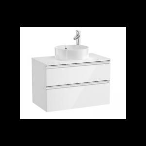Szafka z blatem 80cm Roca Gap biały do kompletacji z umywalką A851501806