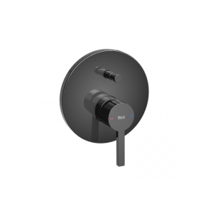 Bateria wannowo - prysznicowa 1 – uchwytowa podtynkowa Roca Naia czarny A5A0B96CN0