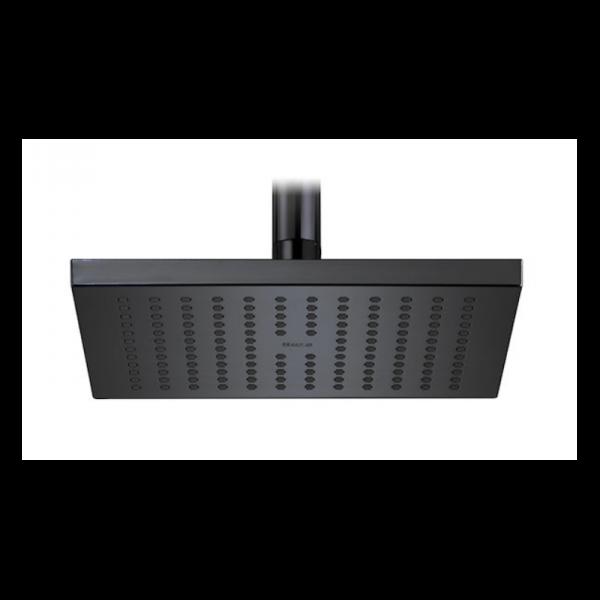 Zdjęcie Glowica prysznicowa kwadratowa 30×30 cm Roca Rainsense czarny A5B4050CN0