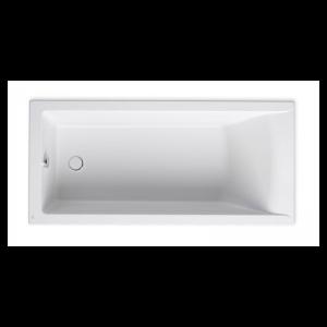 Wanna prostokątna akrylowa Slim Rim Roca Savai 170x75 cm biały A248589000