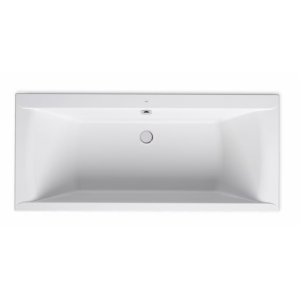 Wanna prostokątna akrylowa Slim Rim Roca Savai 180x80 cm biały A248591000 @