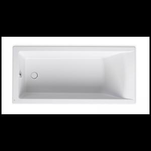 Wanna prostokątna akrylowa Slim Rim Roca Savai 160x75 cm biały A248588000