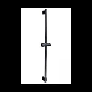 Drążek prysznicowy z uchwytem 80 cm czarny A5B0405CN0