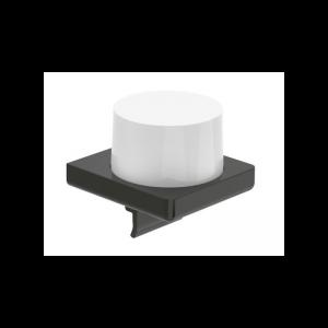 Dozownik szklany ścienny Roca Tempo 12×11 cm Titanium black A817037022