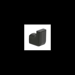 Haczyk pojedynczy ścienny Roca Tempo 3.6×4 cm Titanium black A817020022