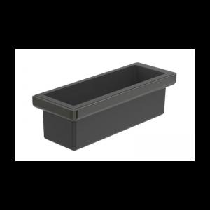 Pojemnik nablatowy 30x11 cm Roca Titanium black A817028022