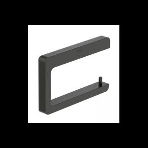 Wieszak na papier bez pokrywy Roca Tempo 15×9,5 cm Titanium black A817034022