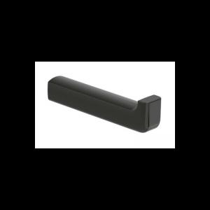 Wieszak na papier toaletowy Roca Tempo 13,9×2,5 cm Titanium black A817035022