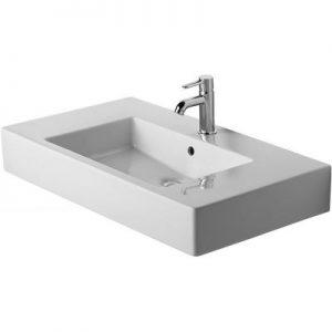 Umywalka meblowa prostokątna Duravit Vero 85x49 cm biały 0329850060 @