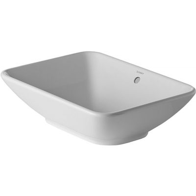 Umywalka nablatowa prostokątna Duravit ME by Starck 55x42 cm biały 334520000