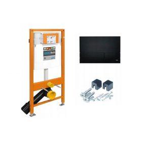 Stelaż WC+ przycisk Werit Jomo tech Exclusive 2.0 czarny mat 174-91102500-00
