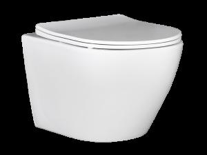 Miska WC wisząca bezkołnierzowa Laveo Desna VMD_600S