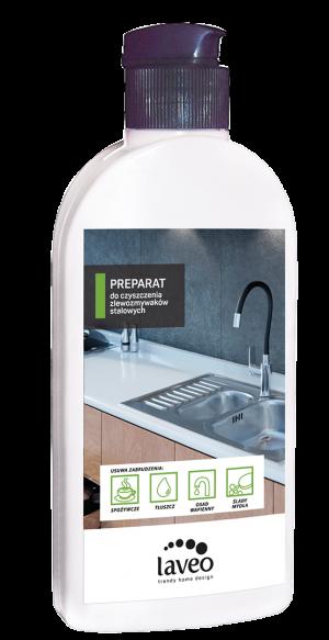 Preparat do czyszczenia zlewozmywaków stalowych 250 ml Laveo OKT_040T