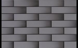 Płytka elewacyjna Cerrad Grafit szkliwiona 6,5x24,5 cm @ ^