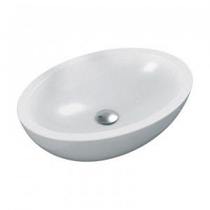 Umywalka nablatowa Ideal Standard Strada 60x42 cm biały K078401@^