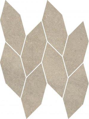 Płytka ścienna Paradyż Smoothstone Bianco Mozaika Cięta Satyna 22.3x29.8 cm