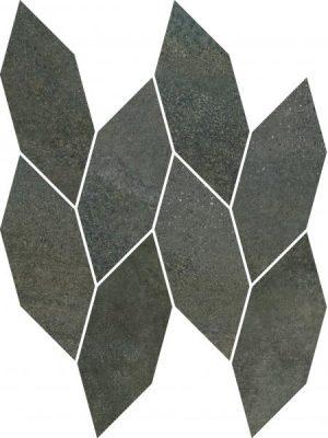 Płytka ścienna Paradyż Smoothstone Umbra Mozaika Cięta Satyna 22.3x29.8 cm