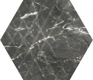 Płytka ścienna Paradyż Marvelstone Grey Heksagon Gres Szkl. Mat. 19.8 x 17.1 cm