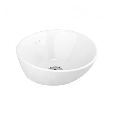 Umywalka nablatowa okrągła Vitra Geo 38x38 cm biały 4421B003-0016 @^