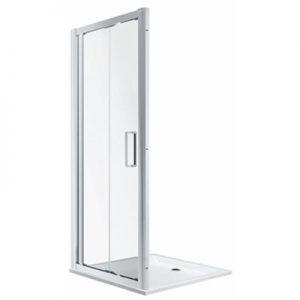 Drzwi prysznicowe Koło Geo 190x90 cm szkło przezroczyste 560.126.00.3