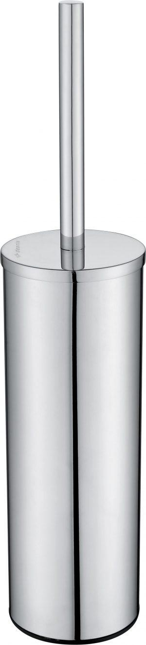 Deante Round Szczotka WC wolnostojąca z pojemnikiem chrom ADR_0712