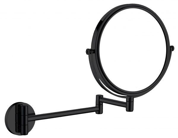 Zdjęcie Deante Round Lusterko kosmetyczne na ramieniu 2-stronne czarny ADR_N811