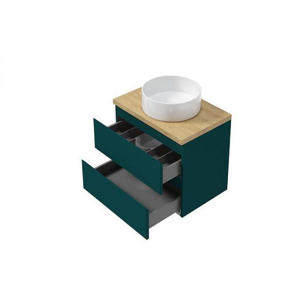 Zdjęcie Szafka podumywalkowa wisząca COMO D60 Defra 60×40 cm zielony mat 123-D-06051