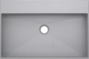 Deante Correo Umywalka stawiana na blacie 60x40 cm szary CQR_SU6S
