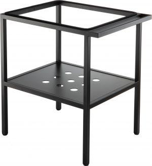 Deante Konsola łazienkowa stojąca 66,5x50x70 cm czarny CST_X60A
