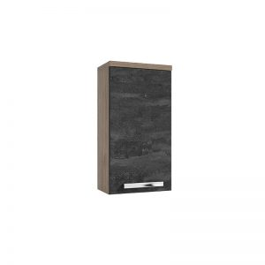 Szafka wisząca GRANADA A30 Defra 30x20 cm orzech rockford / beton czarny 167-A-03003