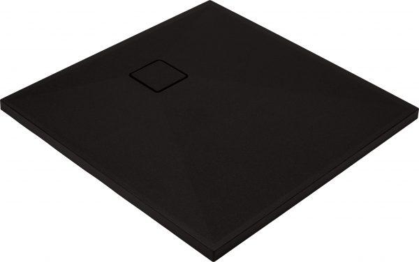 Zdjęcie Deante Correo Brodzik kwadratowy granitowy 90×90 cm czarny KQR_N41B