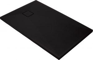 Deante Correo Brodzik prostokątny granitowy 120x80 cm czarny KQR_N44B