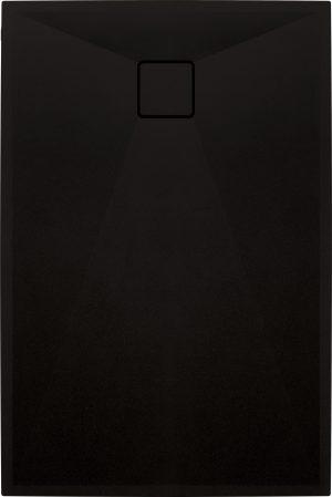Deante Correo Brodzik prostokątny granitowy 100x80 cm czarny KQR_N46B