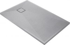 Deante Correo Brodzik prostokątny granitowy 100x90 cm szary metalik KQR_S45B