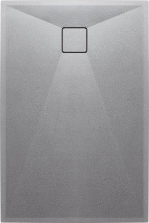 Deante Correo Brodzik prostokątny granitowy 120x90 cm szary metalik KQR_S43B